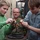 Tvarování bonsají v Bonsai centru Libčany